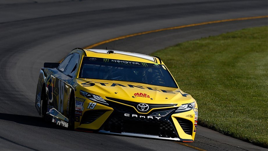 Daniel Suarez at Indianapolis Motor Speedway
