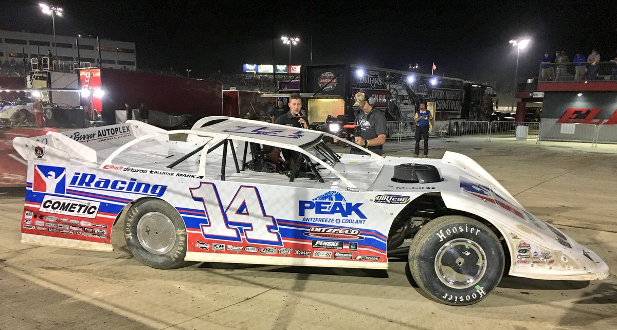 Darrell Lanigan wins at Eldora Speedway