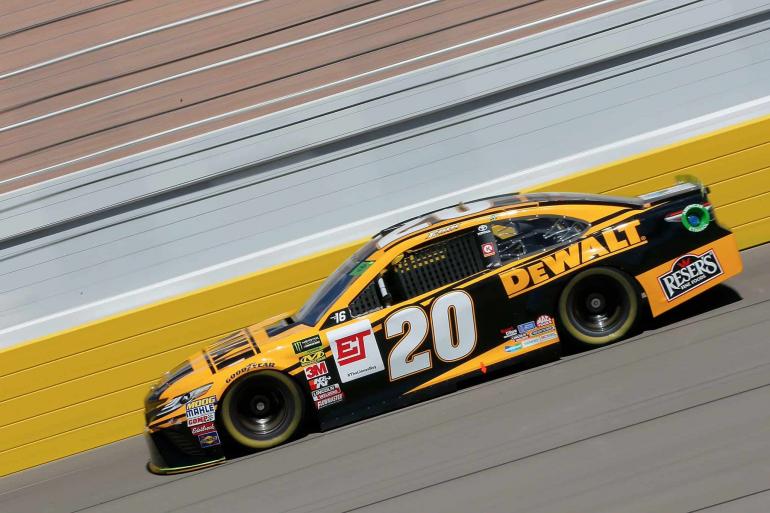 Erik Jones at Las Vegas Motor Speedway