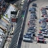 Green flag for the NASCAR Xfinity Series at Darlington Raceway