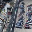 Green flag for the NASCAR Xfinity Series at Darlington Raceway