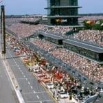 Indianapolis Motor Speedway - 2001 NASCAR crowd