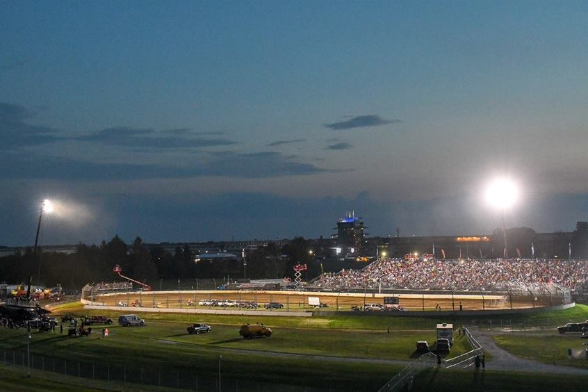 Indianapolis Motor Speedway dirt track