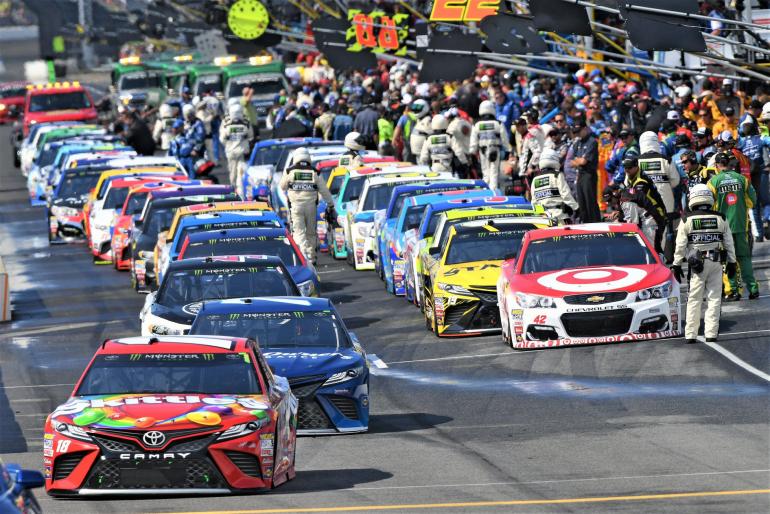 Indianapolis Motor Speedway grid