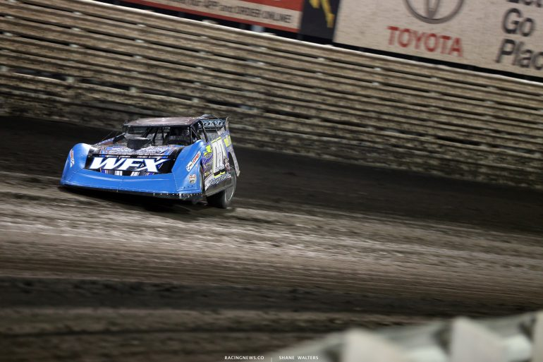 Jesse Stovall at Knoxville Raceway 8507