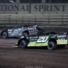 Jimmy Owens and Scott Bloomquist at Knoxville Raceway 9335