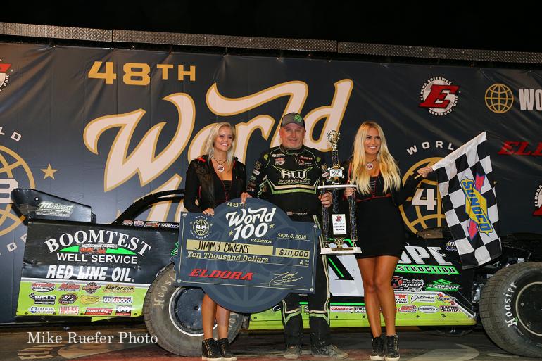Jimmy Owens wins at Eldora Speedway