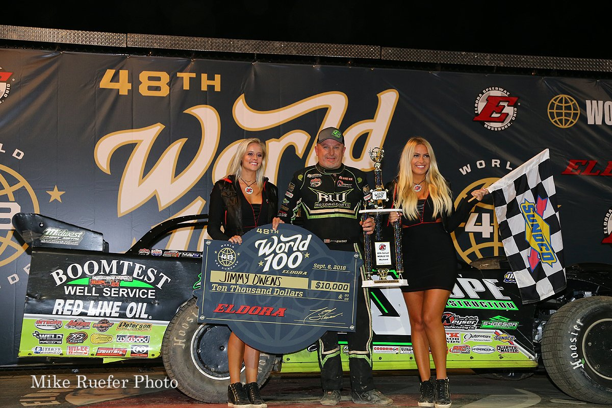 Jimmy Owens wins at Eldora Speedway