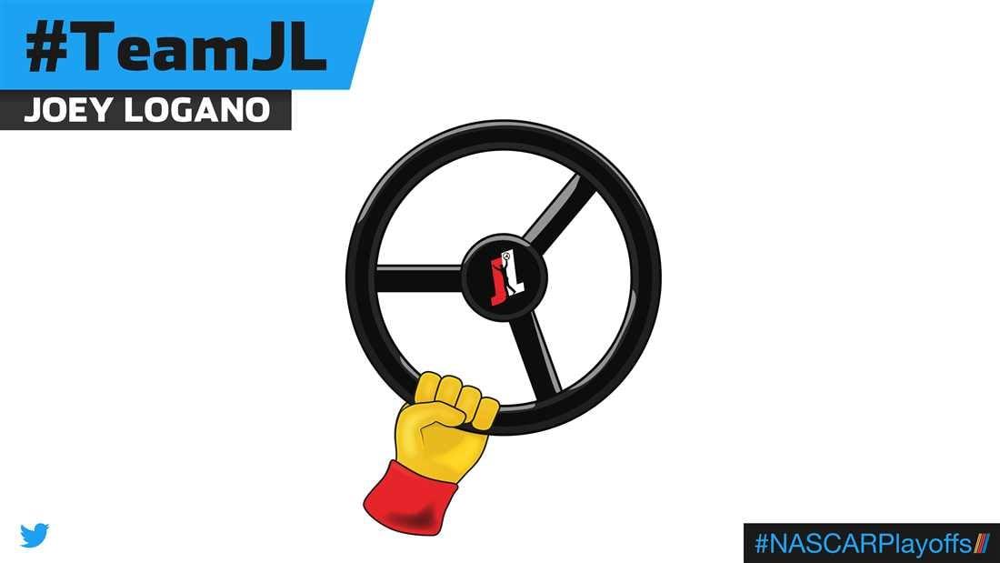 Joey Logano emoji - TeamJL
