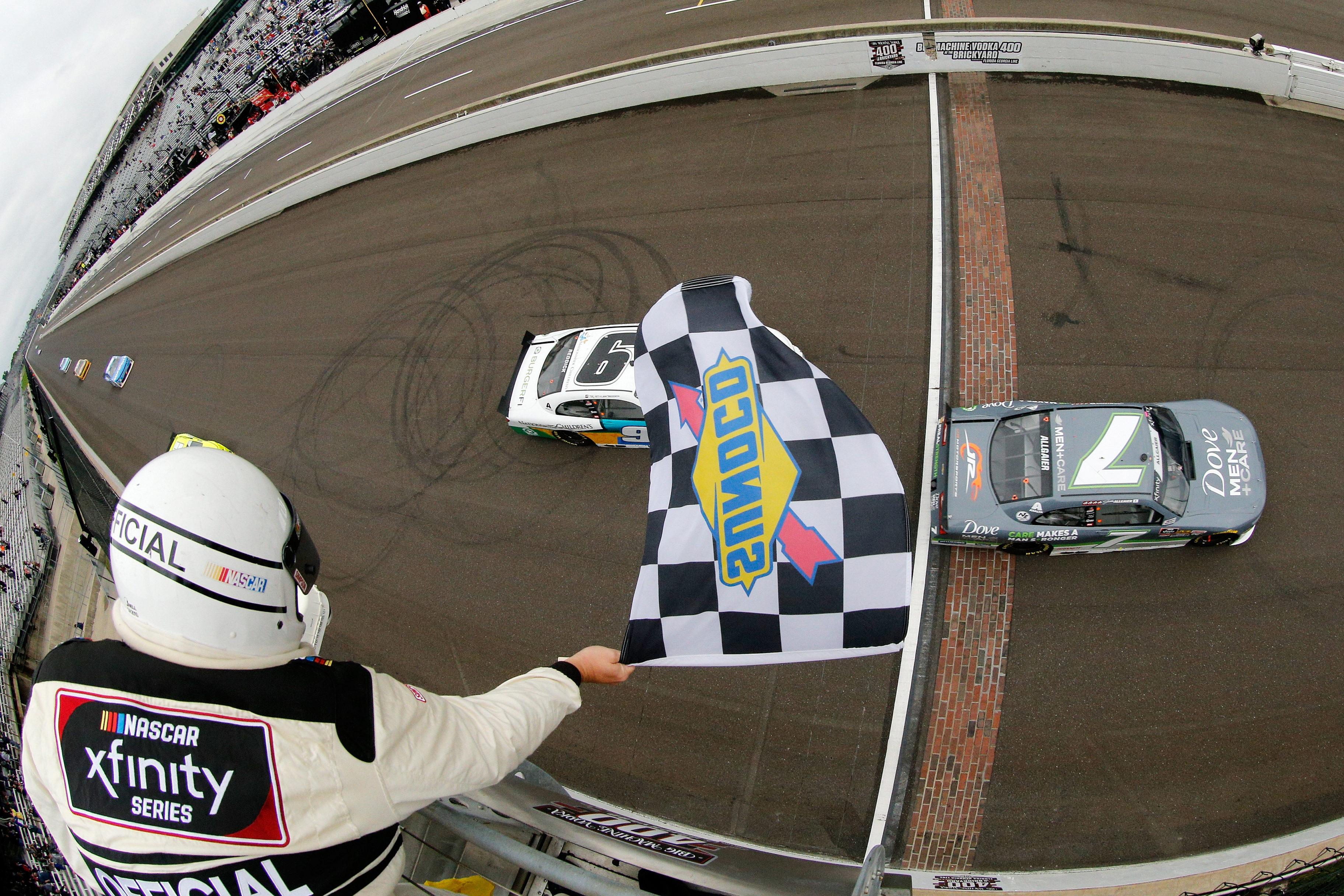 Justin Allgaier wins at Indianapolis Motor Speedway