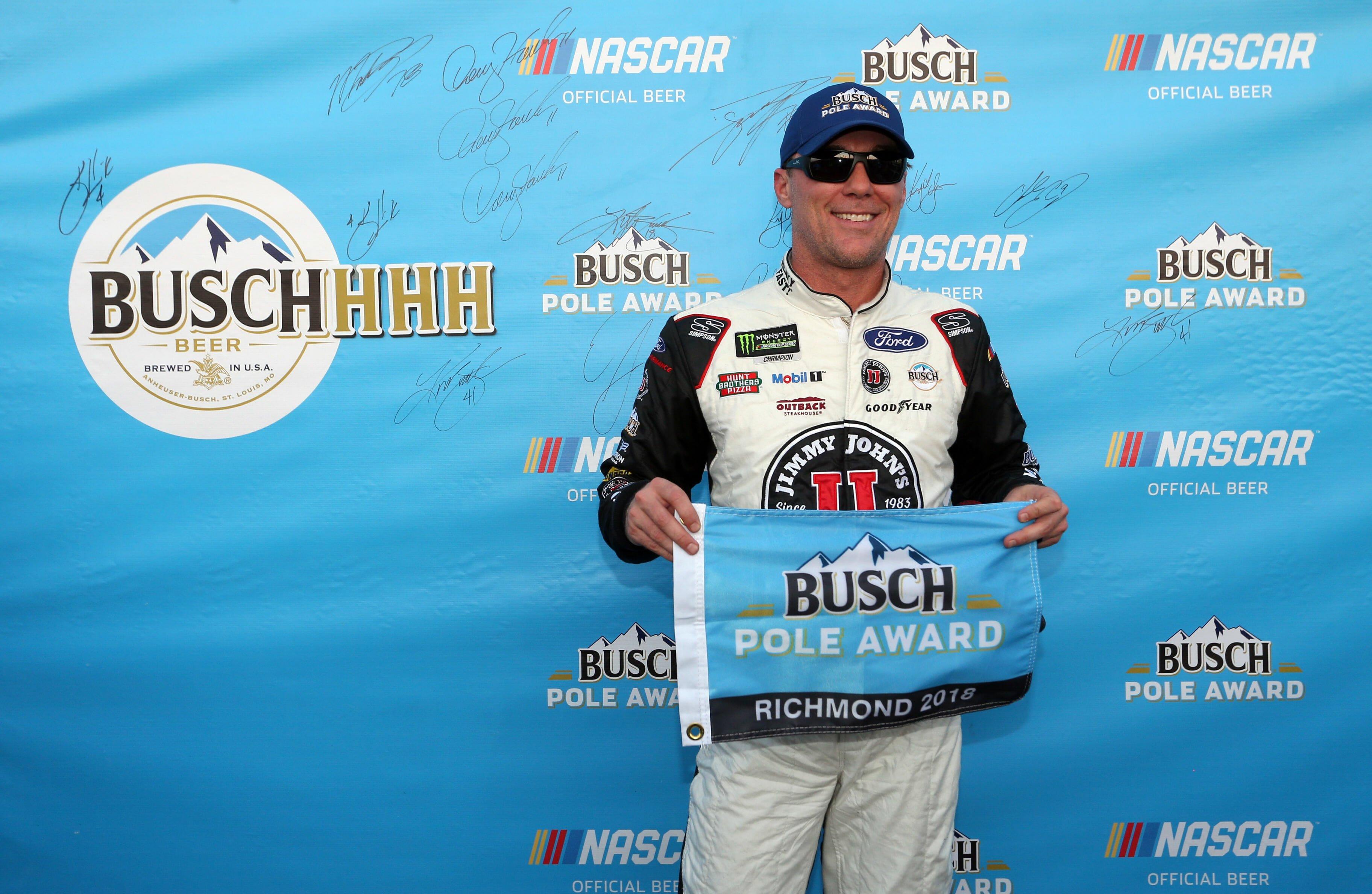 Kevin Harvick - Busch Pole Award at Richmond Raceway