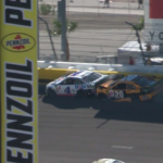 Kevin Harvick and Erik Jones crash at Las Vegas Motor Speedway