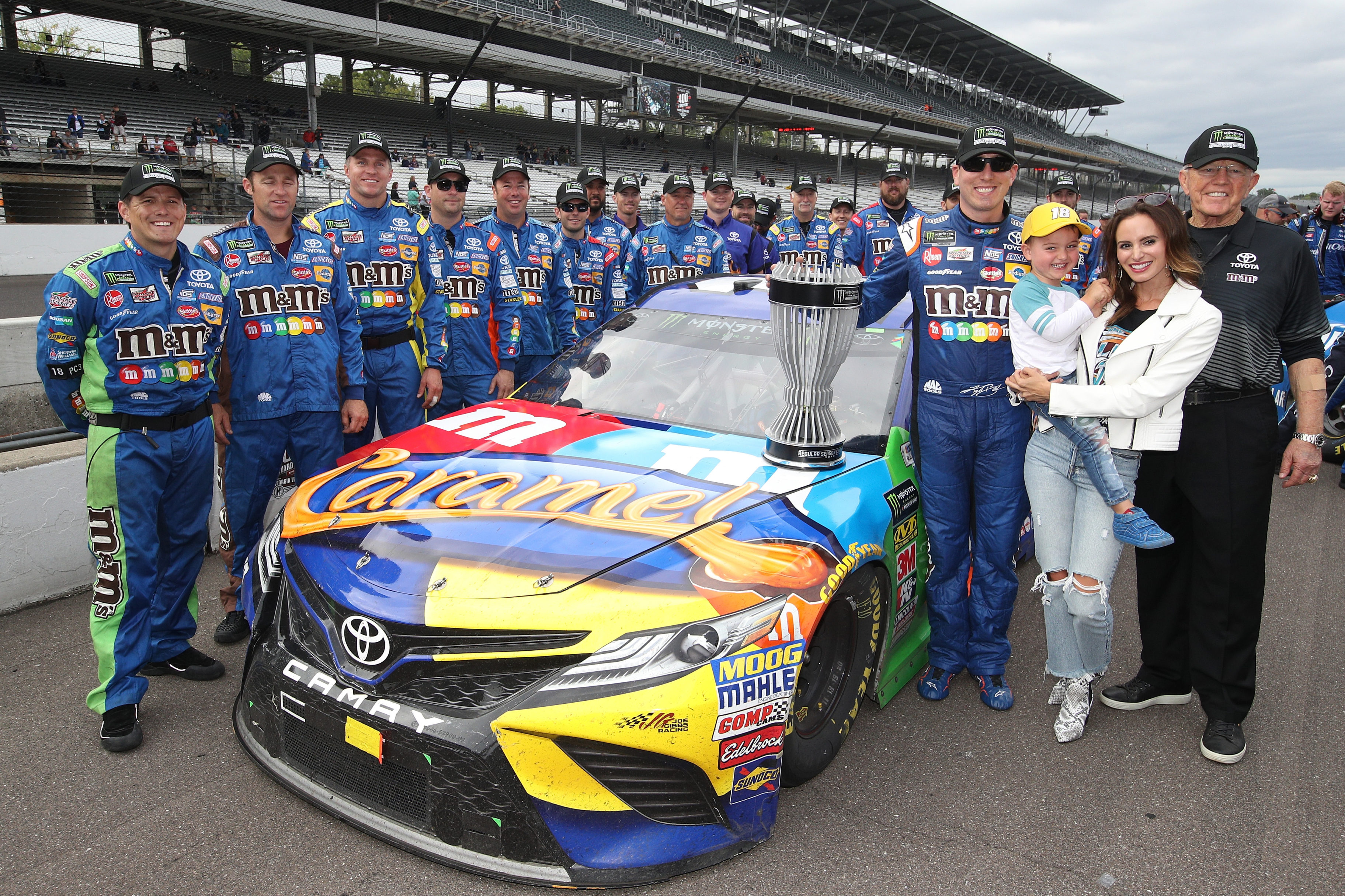 Kurt Busch - 2018 NASCAR Cup Series Regular Season Champion