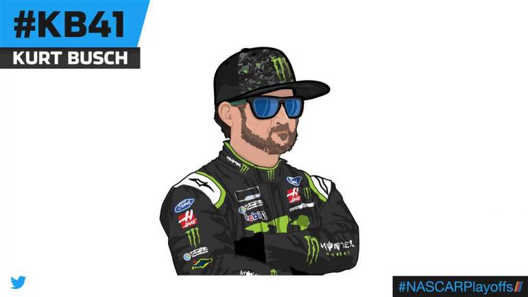Kurt Busch emoji - KB41