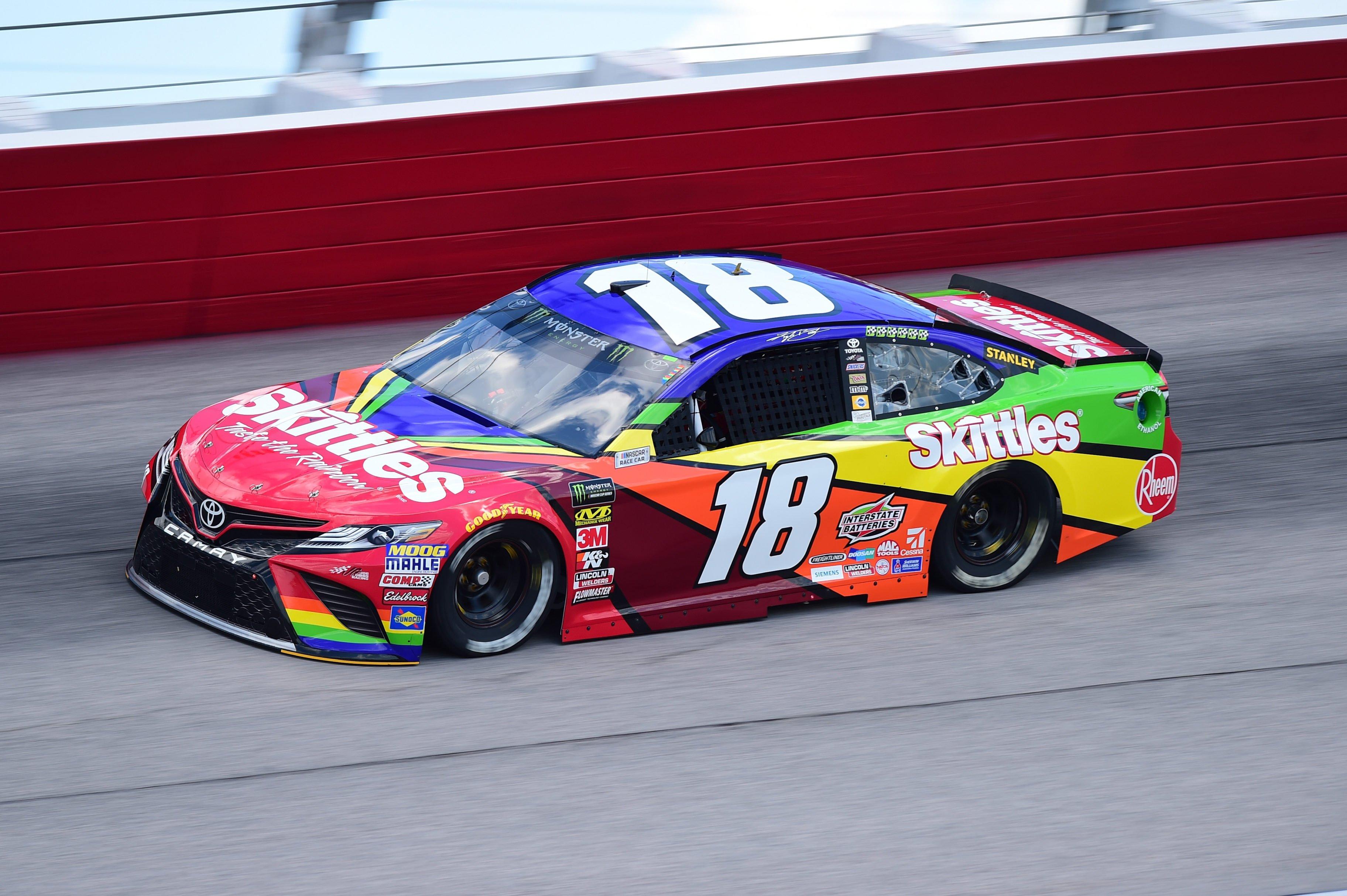 Kyle Busch - 2018 Darlington Raceway paint scheme