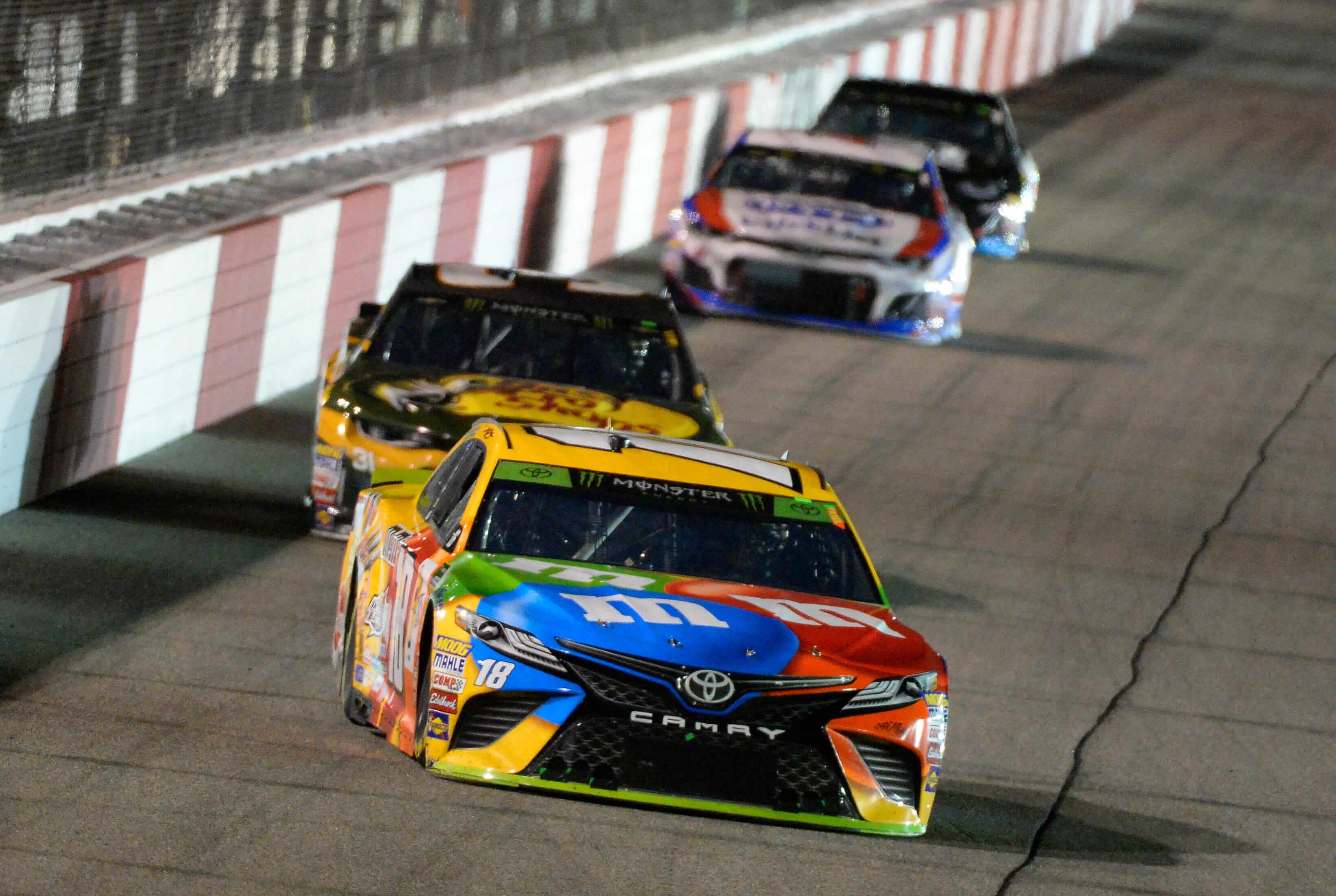 Kyle Busch at Richmond Raceway