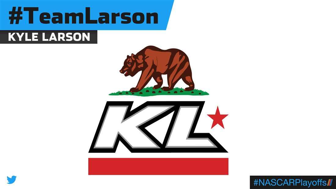 Kyle Larson emoji - TeamLarson