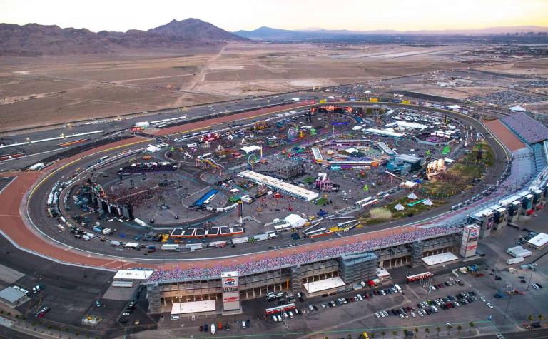 Las Vegas Motor Speedway - NASCAR Racing
