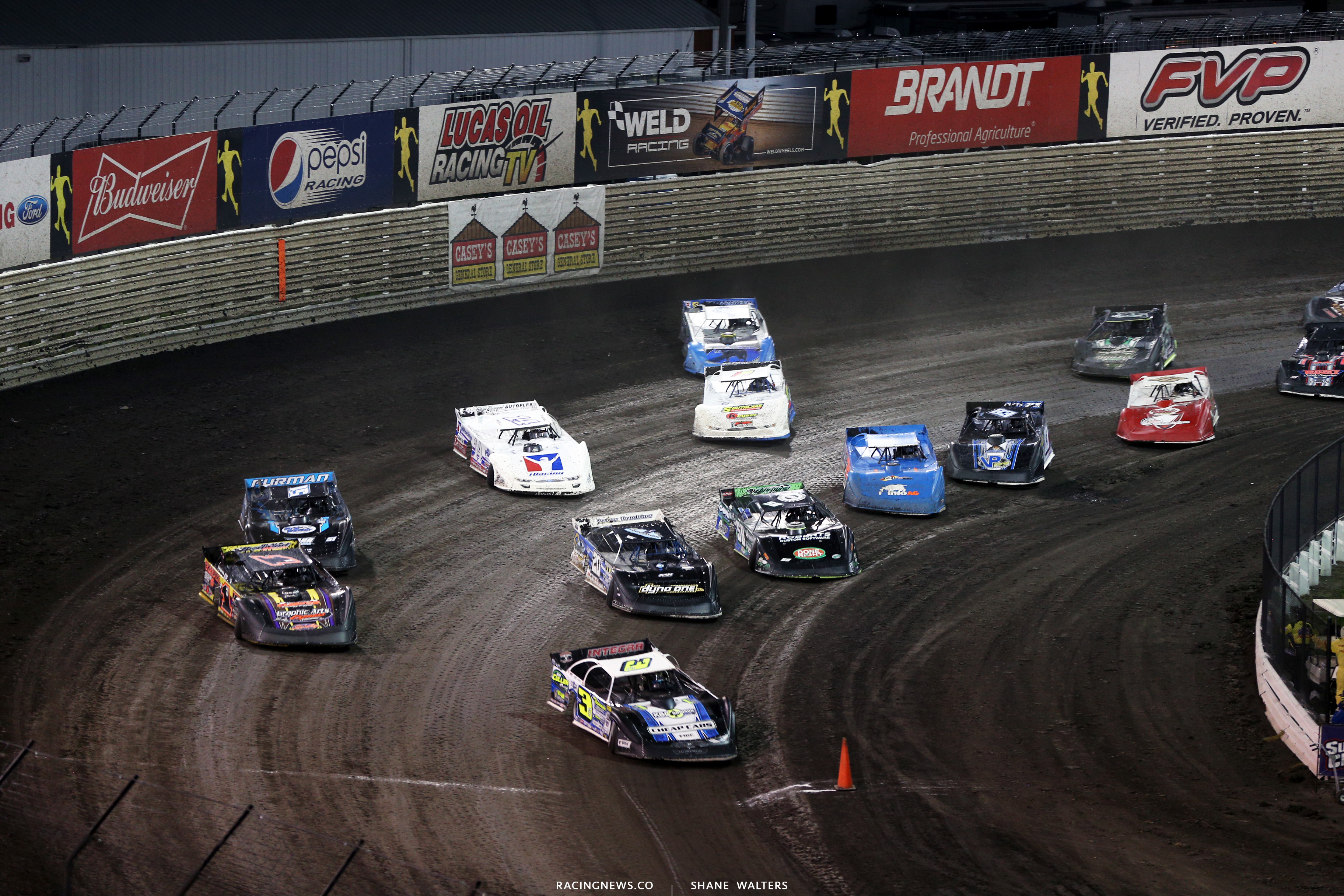 Lucas Oil Late Model Dirt Series at Knoxville Raceway 9095