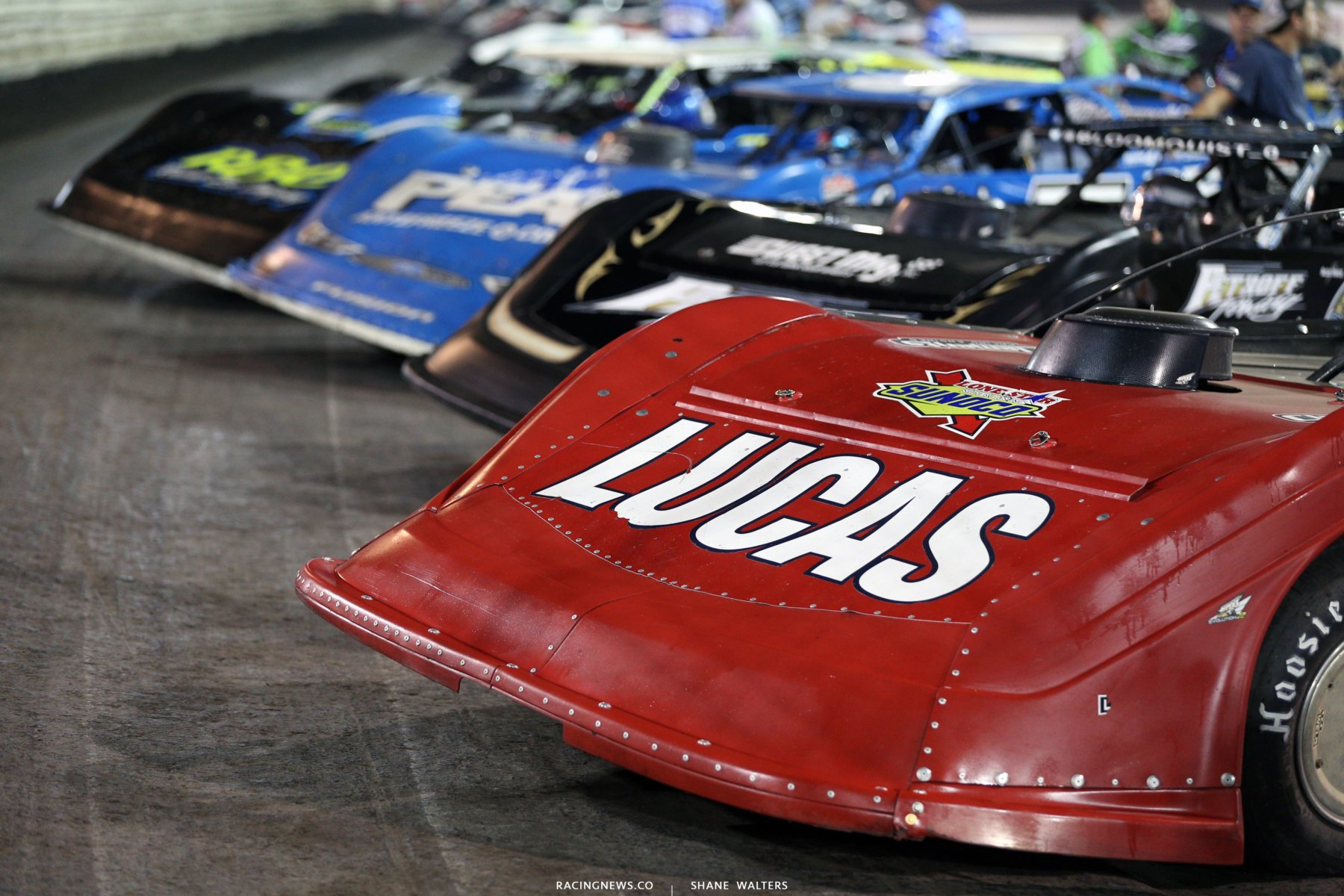 Lucas Oil Late Model Dirt Series at Knoxville Raceway - Earl Pearson Jr 9146