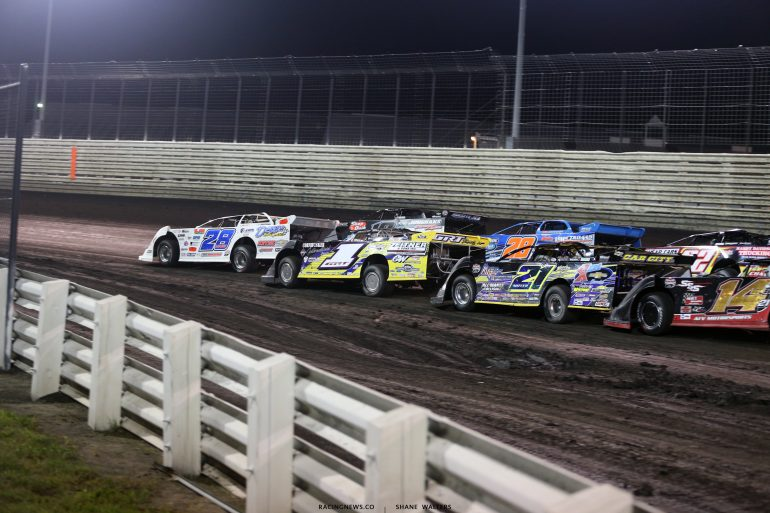 Lucas Oil Late Model Dirt Series at Knoxville Raceway - Jimmy Mars 8526
