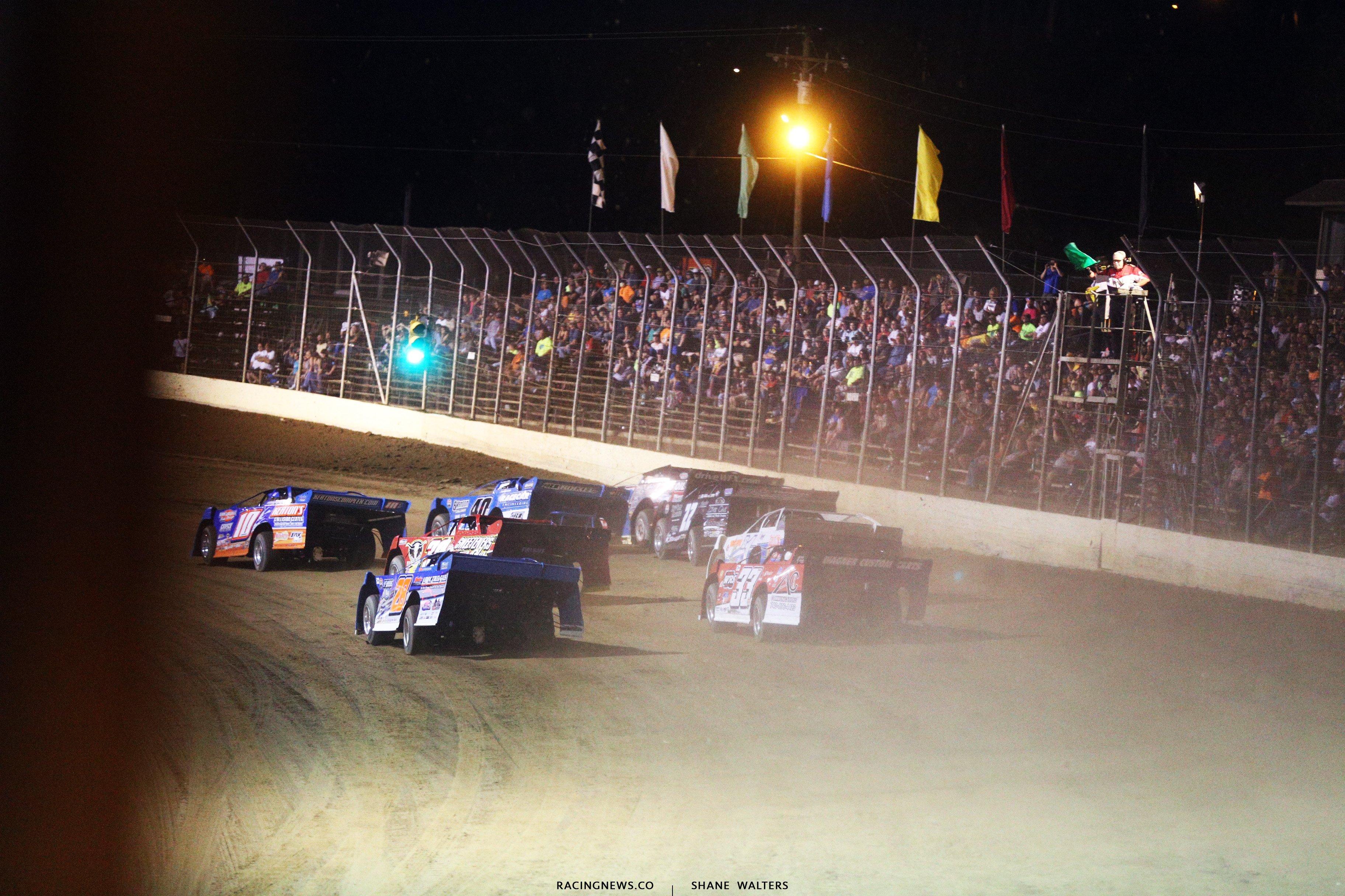 Lucas Oil Late Model Dirt Series at Portsmouth Raceway Park 7271