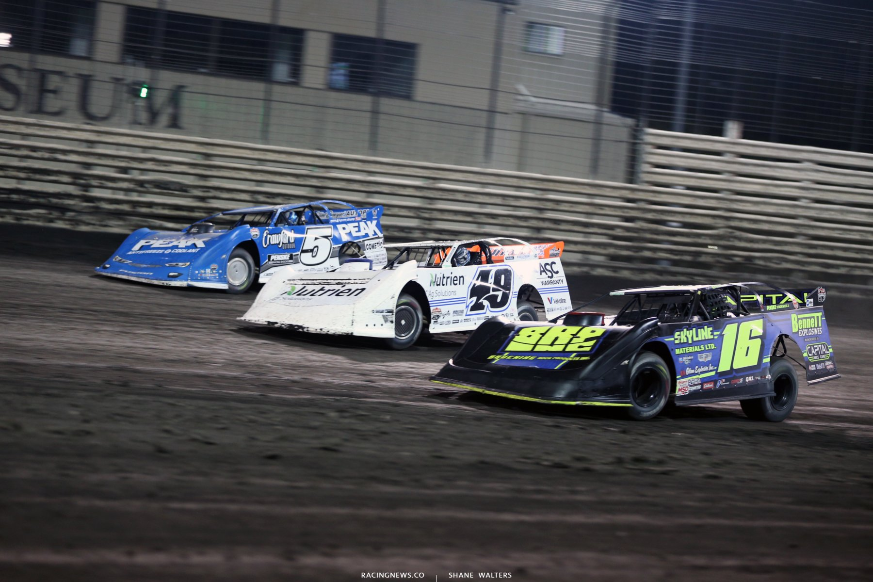 Lucas Oil Late Models at Knoxville Raceway 8842