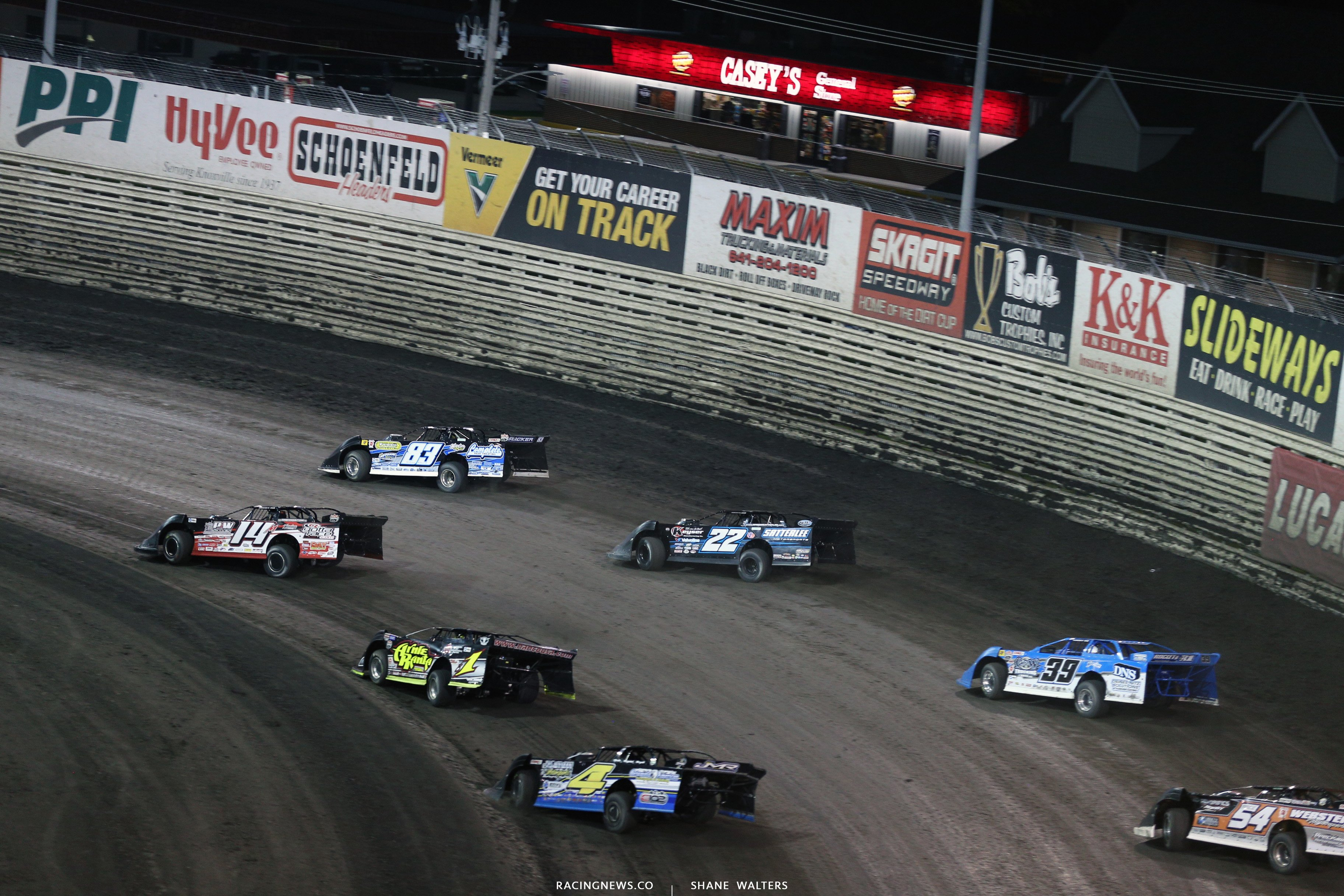 Lucas Oil Late Models at Knoxville Raceway 8976