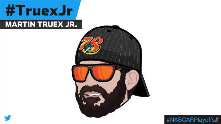 Martin Truex Jr emoji - TruexJr