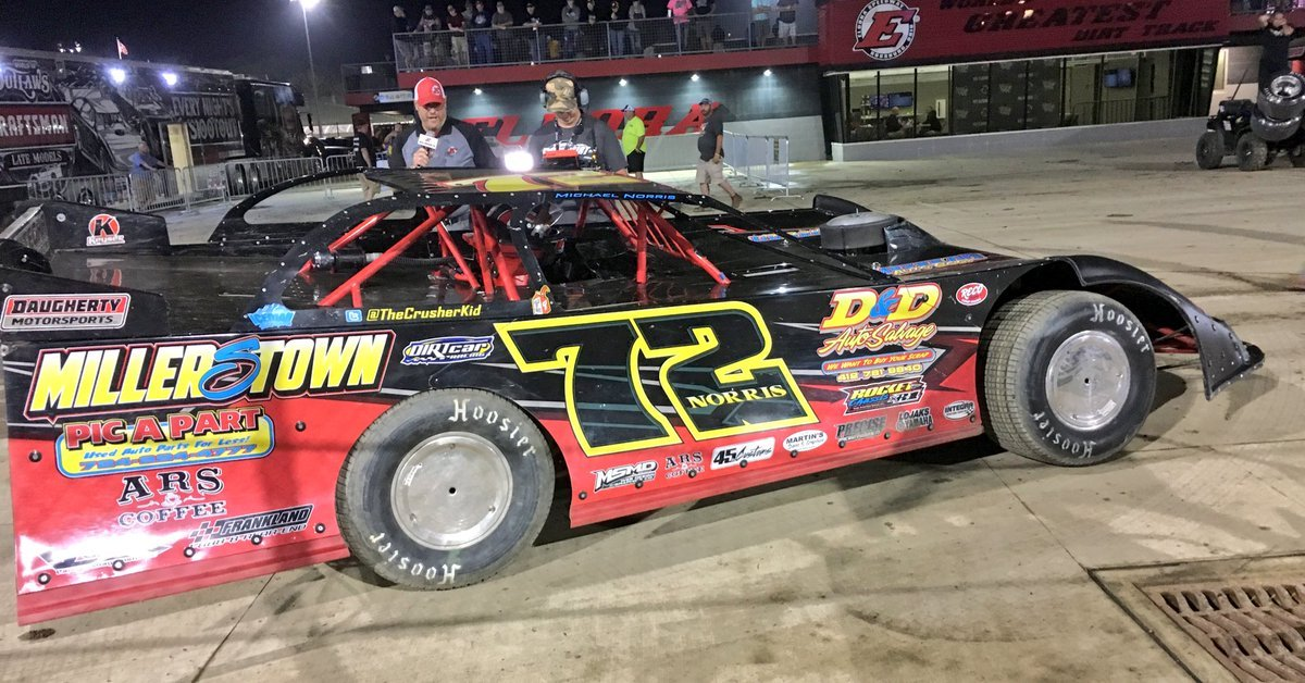 Michael Norris wins at Eldora Speedway