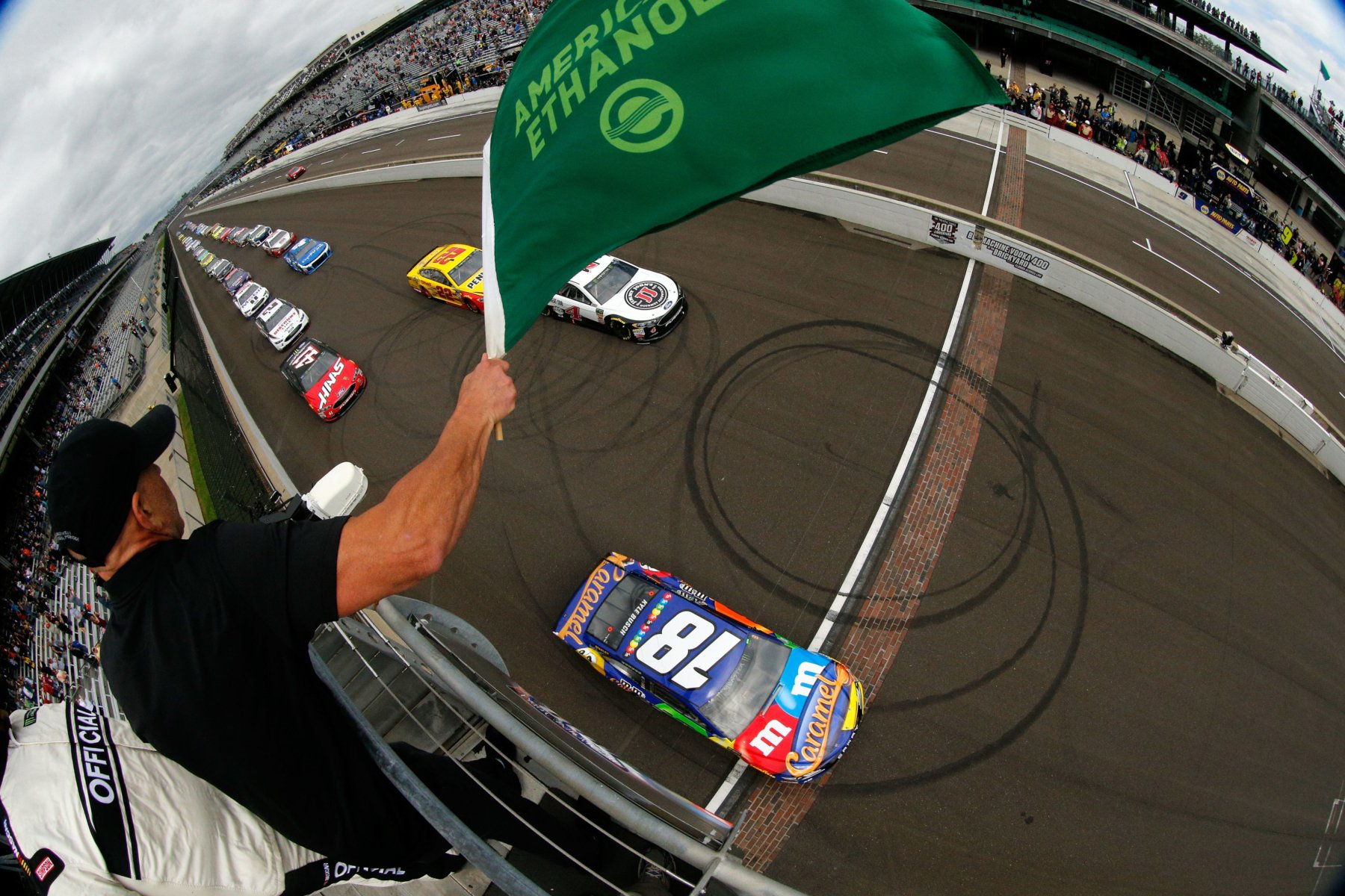 NASCAR Cup Series at Indianapolis Motor Speedway on September 10 2018
