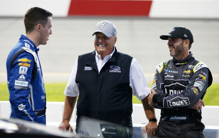 jimmie johnson had to get special permission from nascar to pull the prank on martin truex. Black Bedroom Furniture Sets. Home Design Ideas