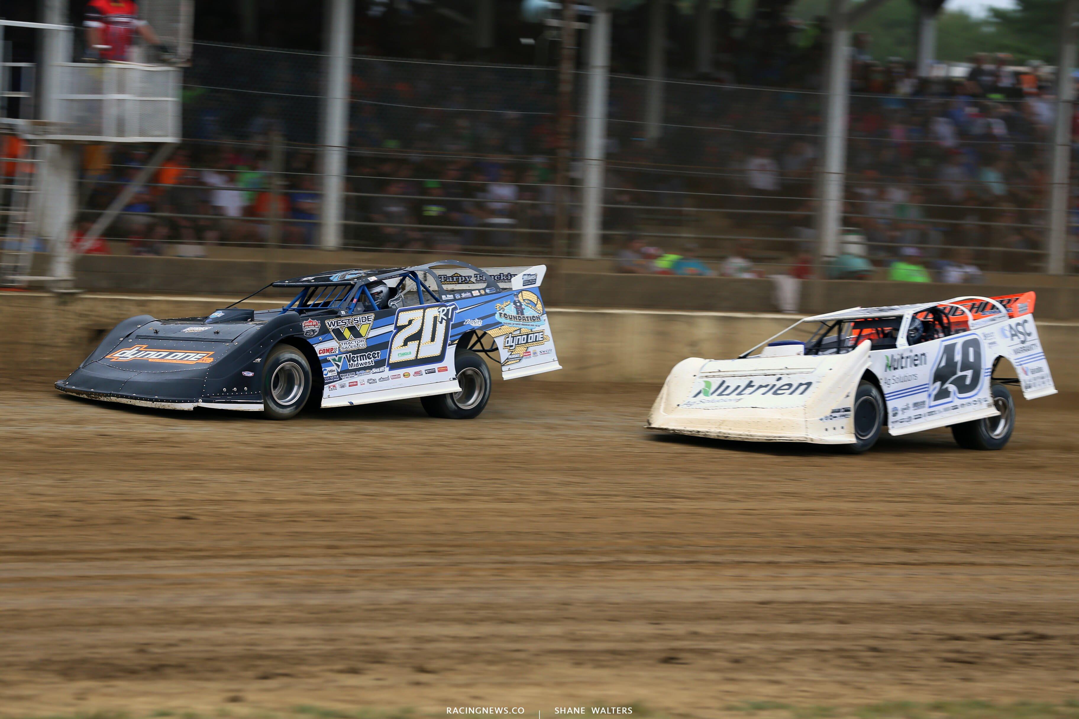 Ricky Thornton Jr at Brownstown Speedway 0185