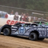 Scott Bloomquist and Josh Richards at Brownstown Speedway 0324
