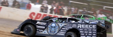 Scott Bloomquist explains issues with his custom built race hauler