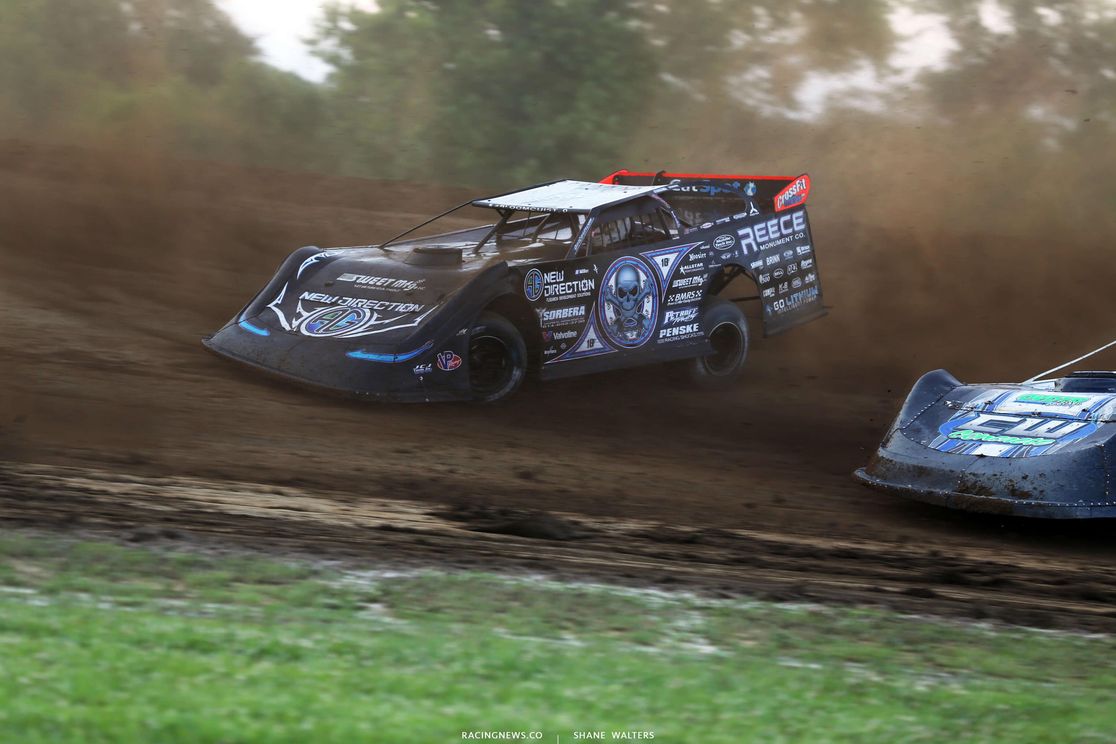 Scott Bloomquist at Muskingum County Speedway 1697