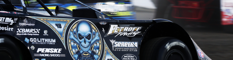 Scott Bloomquist sets quick time in a crate late model; Qualifying time disqualified
