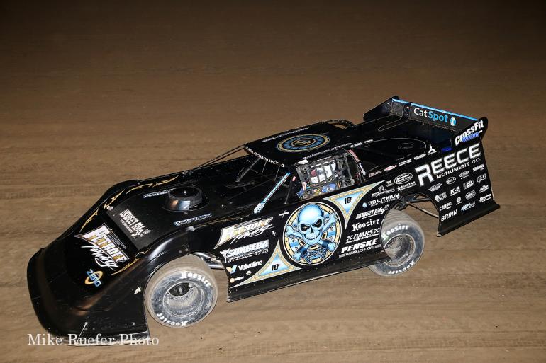 Scott Bloomquist in the World 100 at Eldora Speedway