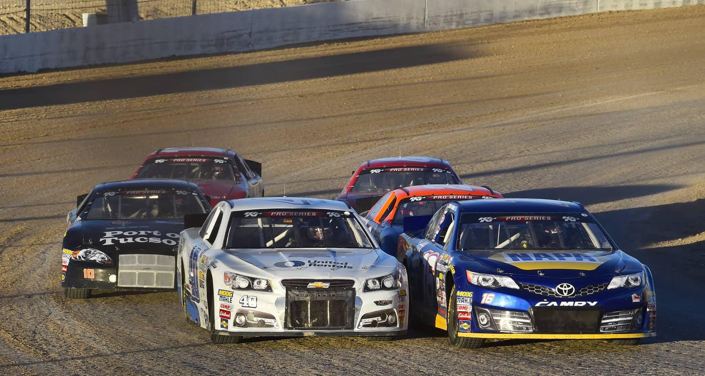 The Dirt Track at Las Vegas Motor Speedway - NASCAR K&N Pro Series