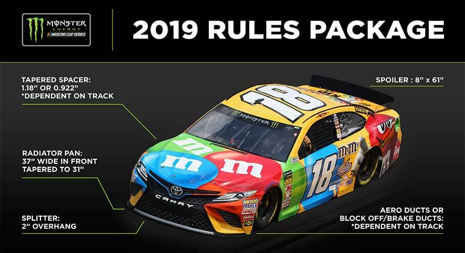2019 NASCAR rules package
