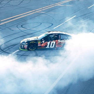 Aric Almirola wins at Talladega Superspeedway
