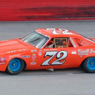 Benny Parsons - 1973 NASCAR Chevrolet Chevelle Race Car