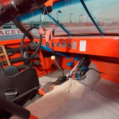 Benny Parsons - 1973 NASCAR Cockpit