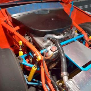Benny Parsons - 1973 NASCAR Engine