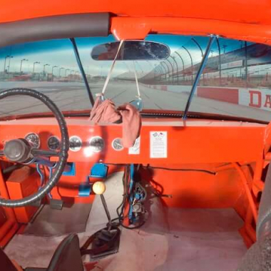 Benny Parsons - 1973 NASCAR Interior