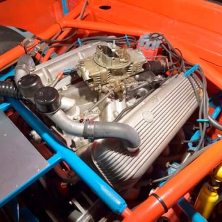 Benny Parsons - 1973 NASCAR Race Car Engine