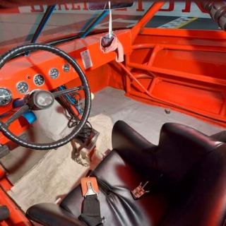 Benny Parsons - 1973 NASCAR Seat