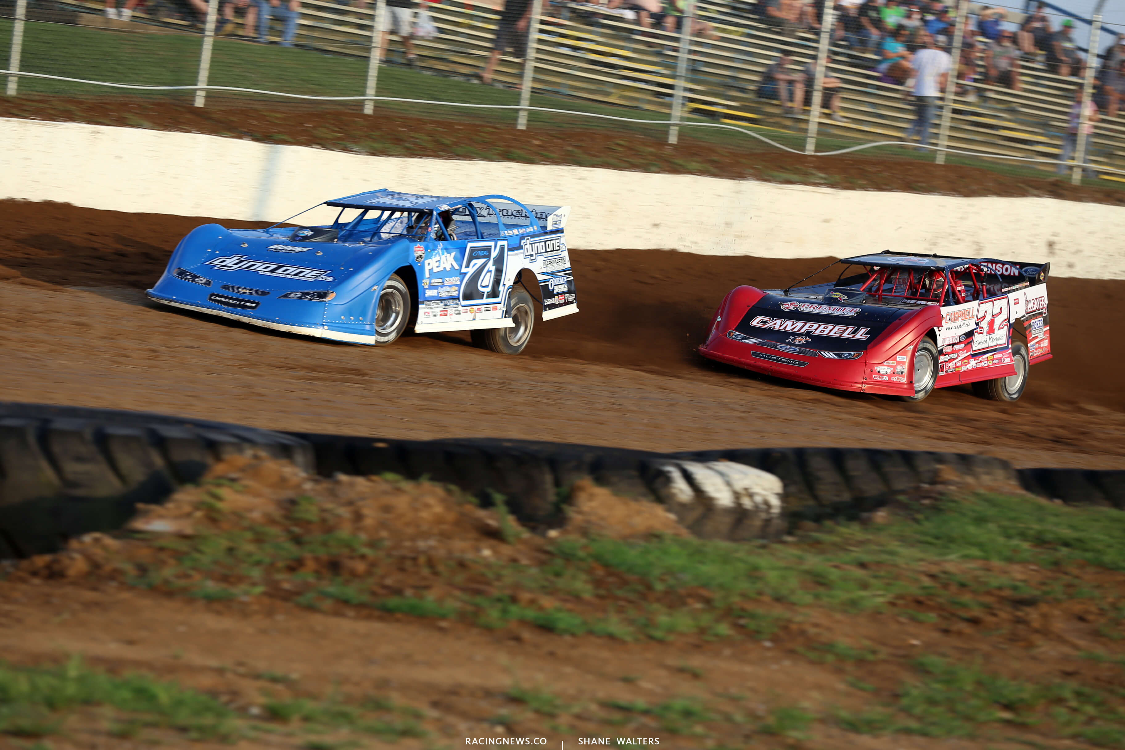 Bobby Pierce and Hudson O'Neal at Florence Speedway - 4606