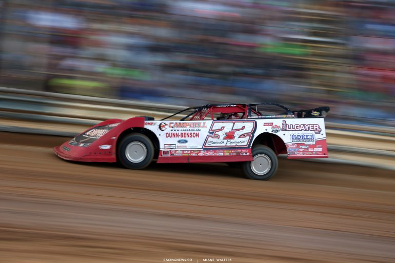 Bobby Pierce at Tyler County Speedway