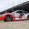 Brad Keselowski at Dover International Speedway - NASCAR Garage Area